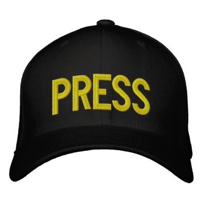 PRESS HAT EMBROIDERED BASEBALL CAPS