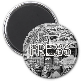 Press Refrigerator Magnet