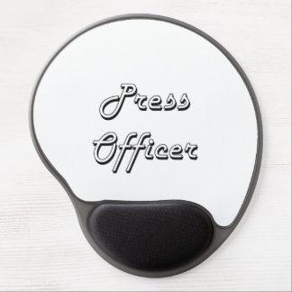 Press Officer Classic Job Design Gel Mouse Pad