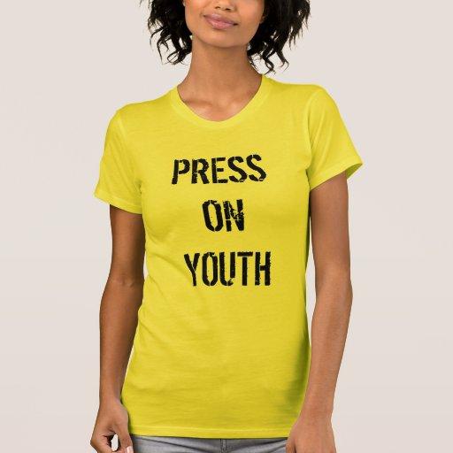 PRESS ON YOUTH TSHIRT