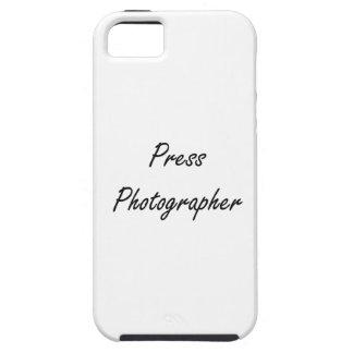 Press Photographer Artistic Job Design iPhone 5 Cover