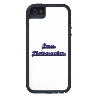 Press Photographer Classic Job Design iPhone 5 Covers