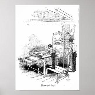 Press-printing Poster