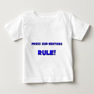 Press Sub-Editors Rule! Tees