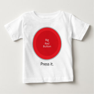 Press the button baby T-Shirt