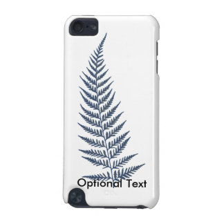 Pressed Botanical Fern Leaf - Mix and Match Color iPod Touch (5th Generation) Case
