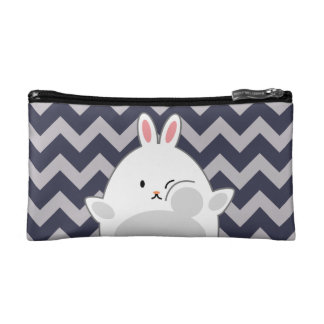 Pressed Bunny Cosmetic Bag