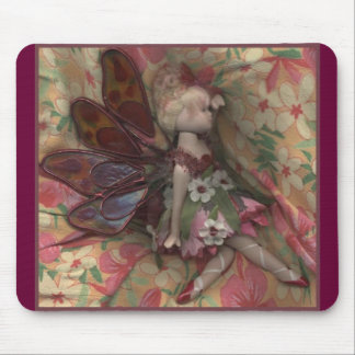 Pressed Fairy Mouse Pad