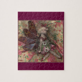 Pressed Fairy Jigsaw Puzzles