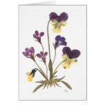 Pressed Flower Design Greeting Cards