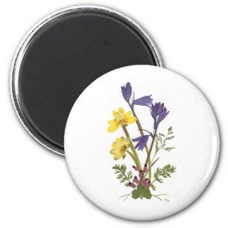 Pressed Flower Designs Magnets