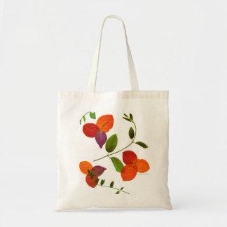 Pressed Flower Espirit Tote Budget Tote Bag