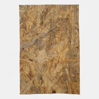 pressed wood residues textures kitchen towel