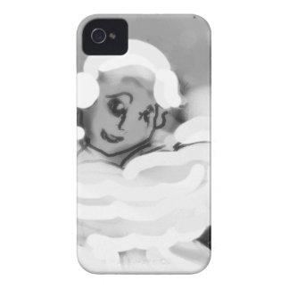 pressingforwardskateblkandwht.png Case-Mate iPhone 4 case
