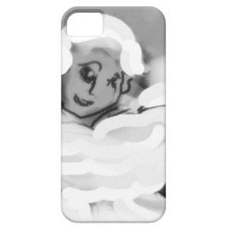 pressingforwardskateblkandwht.png iPhone SE/5/5s case