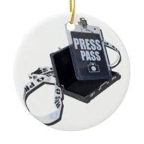 PressPassBriefcase.png Ceramic Ornament