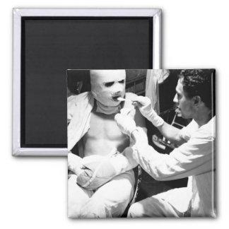 Pressure bandaged after they_War Image Magnet