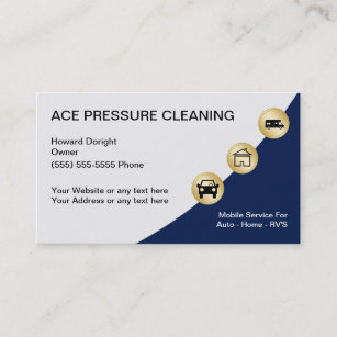Commercial cleaning business cards zazzle pressure cleaning business cards colourmoves