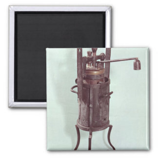 Pressure cooker invented by Denis Papin  1679 2 Inch Square Magnet