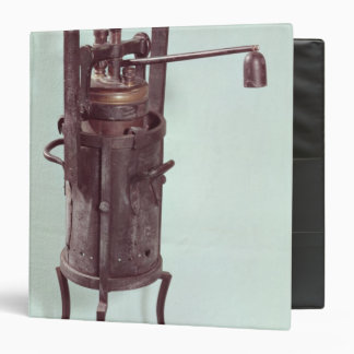 Pressure cooker invented by Denis Papin  1679 Binder