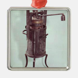 Pressure cooker invented by Denis Papin  1679 Metal Ornament