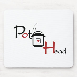 Pressure Cooker Pot Head Mouse Pad