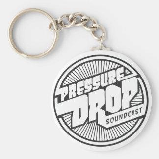 Pressure Drop Soundcast Logo Key Chain