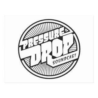 Pressure Drop Soundcast Logo Postcard