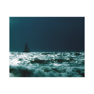 """Pressure on canvas """"stormy sea """""""