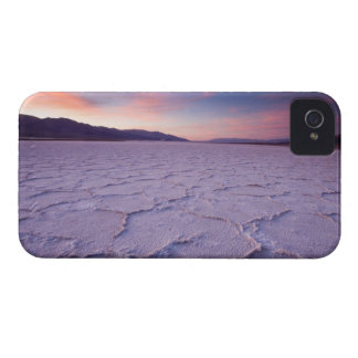 Pressure ridges in the salt pan near Badwater, iPhone 4 Cover