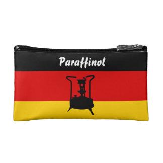 Pressure stove with German flag Cosmetic Bag