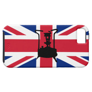 Pressure stove with Union Jack iPhone SE/5/5s Case