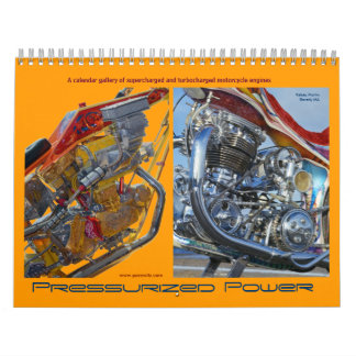 Pressurized Power 2012 Motorcycle Engine Calendar