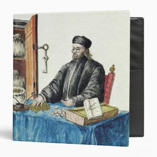 """Prestamista veneciano, de un libro ilustrado carpeta 1 1/2"""""""