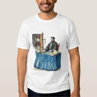 Prestamista veneciano, de un libro ilustrado playera