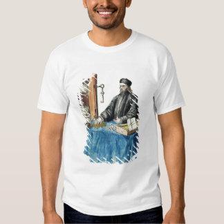 Prestamista veneciano, de un libro ilustrado poleras