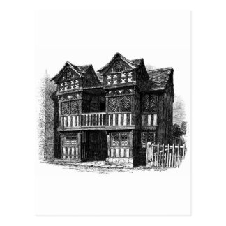 Prestbury Old Hall Postcard