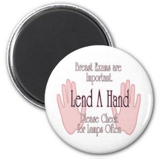 Preste una mano imán redondo 5 cm