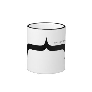 Prestige Elite  Font Parenthese Mustache Mug