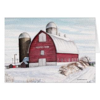 Prestleys barn 2010, copyright 2010 Michael L. ... Greeting Cards
