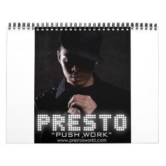 Presto Calendar 2009