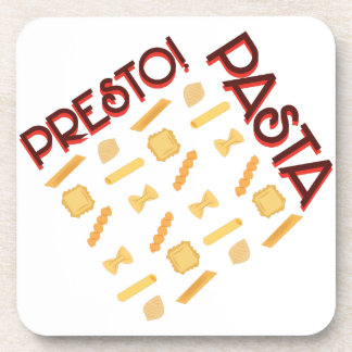 Presto Pasta Beverage Coaster