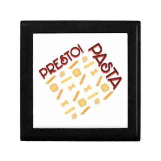 Presto Pasta Keepsake Box