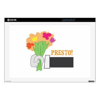 Presto! Skin For Laptop