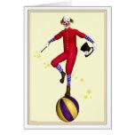 Presto The Clown Birthday Card
