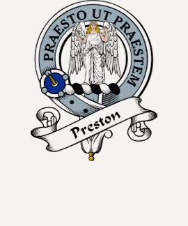 Preston Clan Badge Tshirts