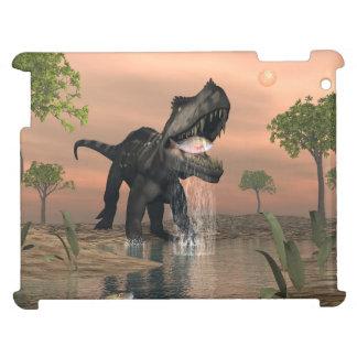 Prestosuchus dinosaur fishing - 3D render iPad Covers