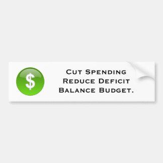 Presupuesto Etiqueta De Parachoque