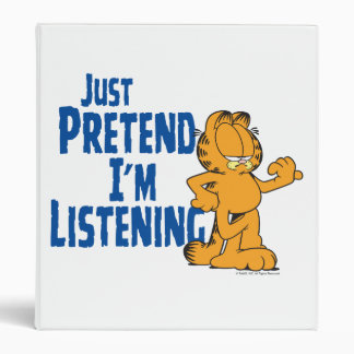 Pretend I m Listening Binder