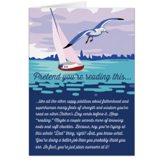 Pretend You're Reading This... Card